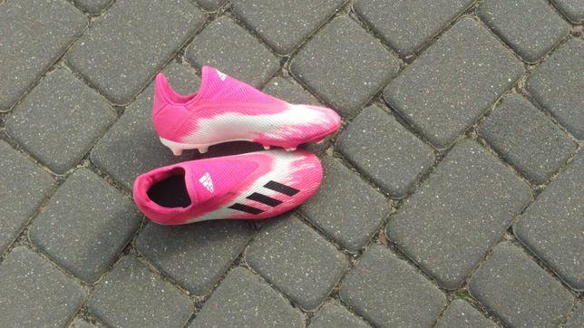 Buty korki dziecięce do grania w piłkę rozmiar 35 Adidas