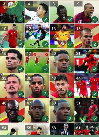 0,50€ Ronaldo 2021 e 2018 fome de vencer continente