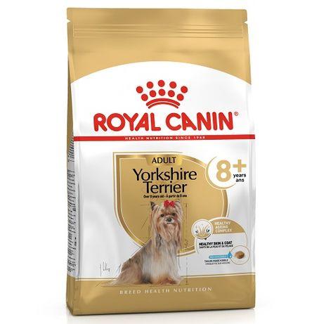 Royal Canin York Yorkshire Terrier 8+ Senior 3kg