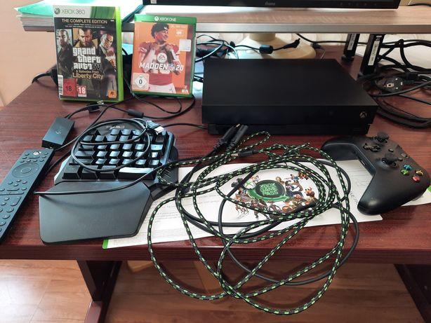 Xbox OneX I akcesoria +GamePass+gta4complete