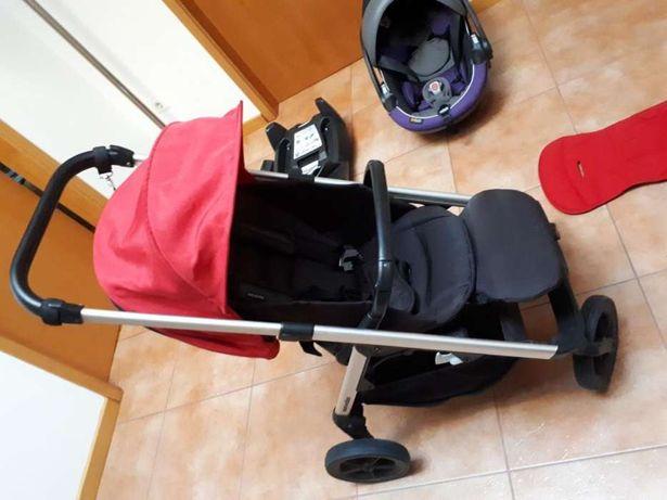 Carrinho de bebe e cadeira isofix
