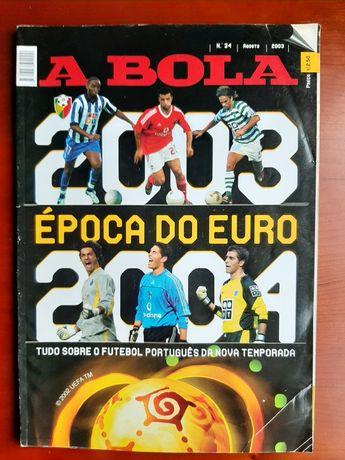 Suplemento antevisão A BOLA época 2003/04