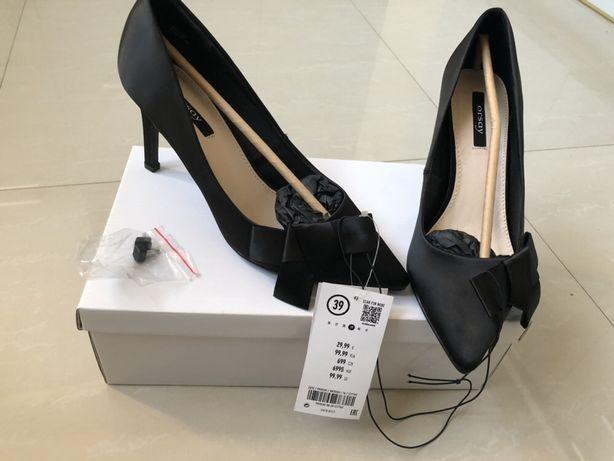 Eleganckie buty Orsay - rozmiar 39