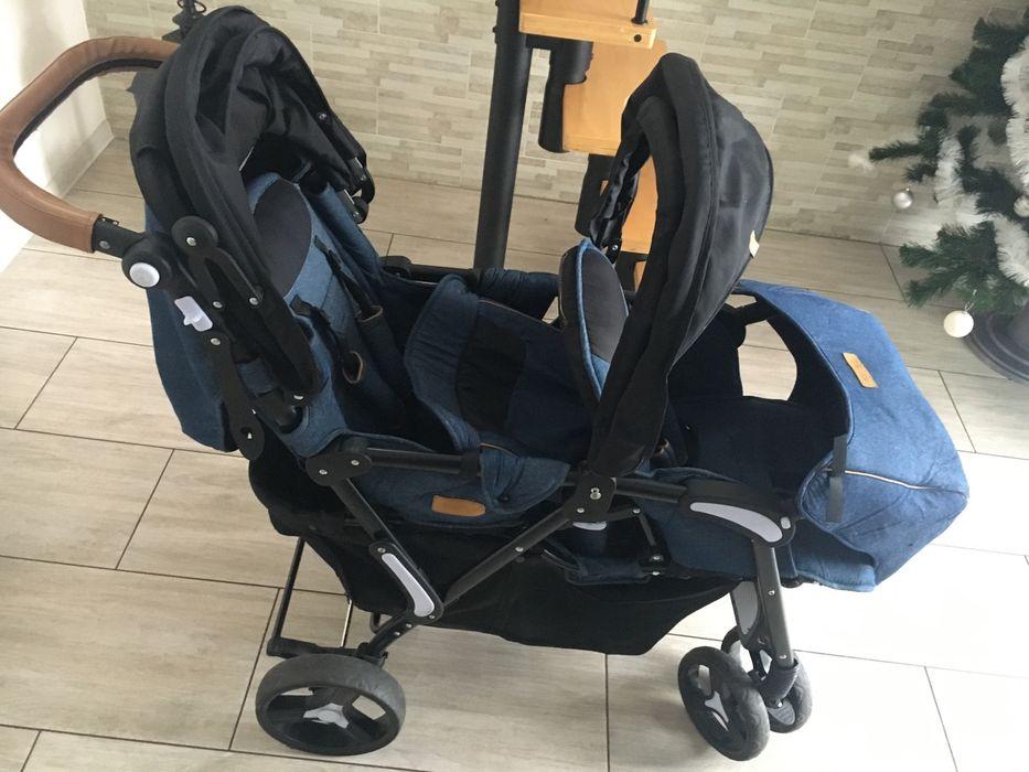 Wózek dla dwóch dzieci Nowe - image 1