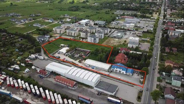 Działka inwestycyjna pod bloki lub centrum handlowe