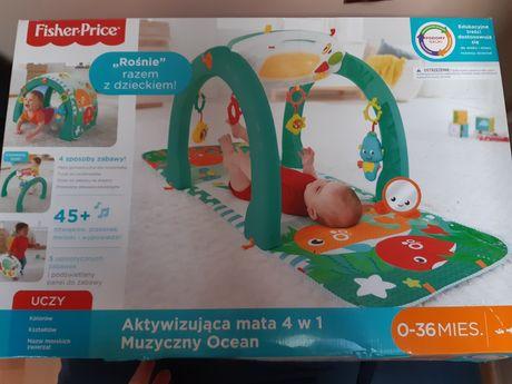Aktywizująca mata 4w 1 Muzyczny ocean