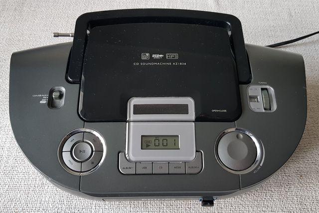 Radioodtwarzacz Philips AZ1834/12 - RADIO/USB/MP3 + instrukcja !!!