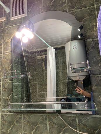 Продам зеркало для ванной комнаты с подсветкой