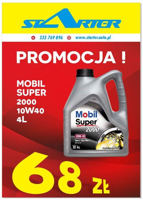Promocja Olej MOBIL SUPER 2000 10W40 4L Brzeziny - image 1