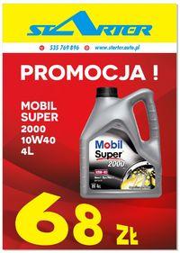 Promocja Olej MOBIL SUPER 2000 10W40 4L