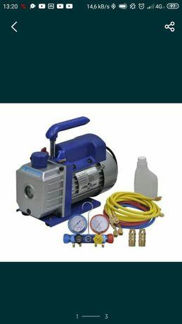 Pompa próżniowa, klimatyzacja, samodzielny montaż klimatyzacji