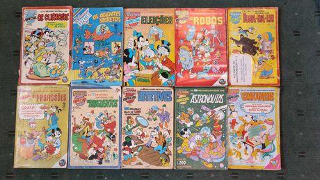 Lote 17 livros BD Disney Especial