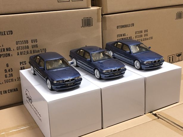 Modele 1:18 Otto mobile, Solido - BMW, MERCEDES, FORD, TOYOTA, RENAULT