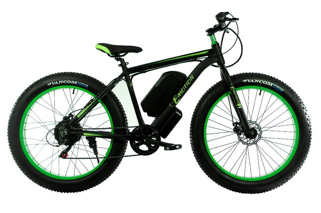 "Электровелосипед E-motion Fatbike GT 48V15Ah1000W алюминиевая рама 19"""
