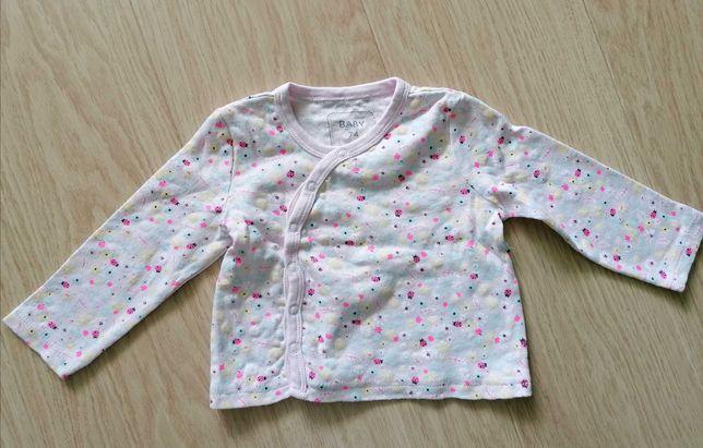 Kaftanik niemowlęcy dziewczynka 74 cm