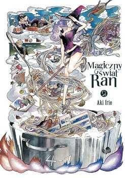 Magiczny świat Ran Tom 2 - oprawa twarda - WYPRZEDAŻ!!!