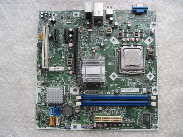 775 Foxconn H-I41-uATX (G41, 3 Pci-e) DDR3 + 4 ядра по 2.33 Ghz