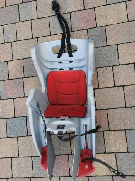 Używany fotelik rowerowy dziecięcy Bellelli MR FOX CLAMP bagażnik