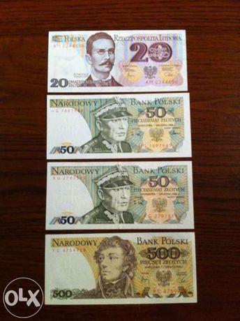 Sprzedam lub zamienię Banknoty PRL