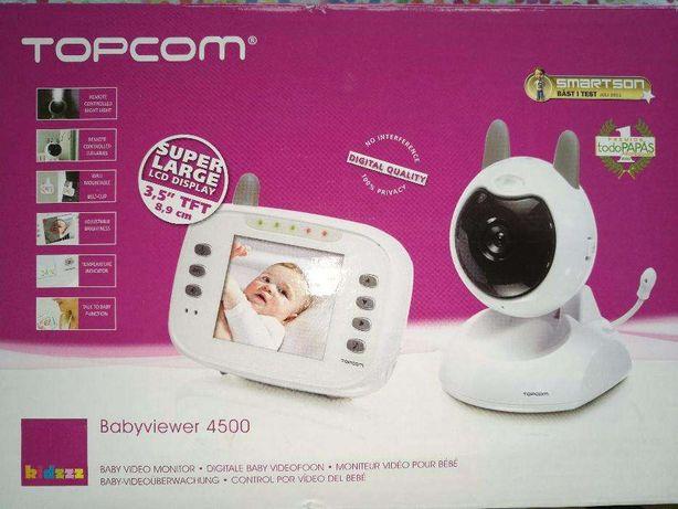 Câmara para bebé Babyviewer 4500 da Topcom