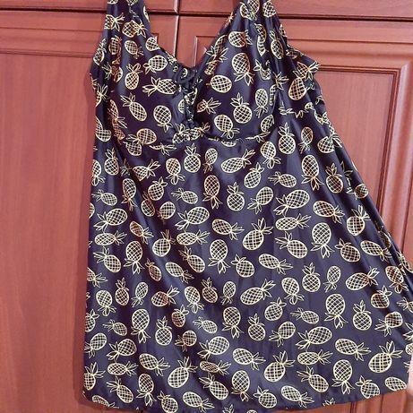 Купальник -платье , раздельный большого размера
