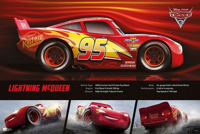 Posters novos CARS 3