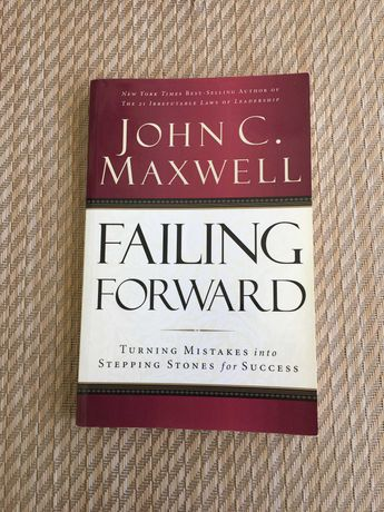 Livro Failing Forward - John C Maxwell