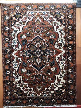 Tapete Persa (Kushan) novo, feito à mão, com certificado de origem