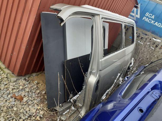 Lewy bok VW T5 Long zamiana