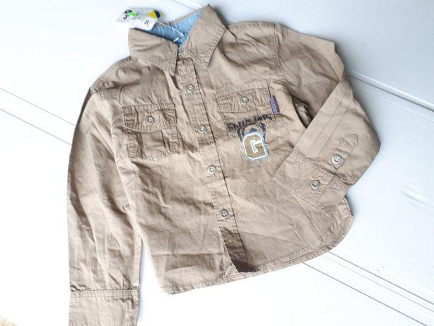 Крутая немецкая рубашка сорочка мальчику р.92см рост