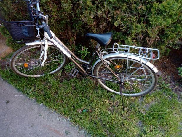 Sprzedam Rower miejski damski( praktycznie nieużywany)