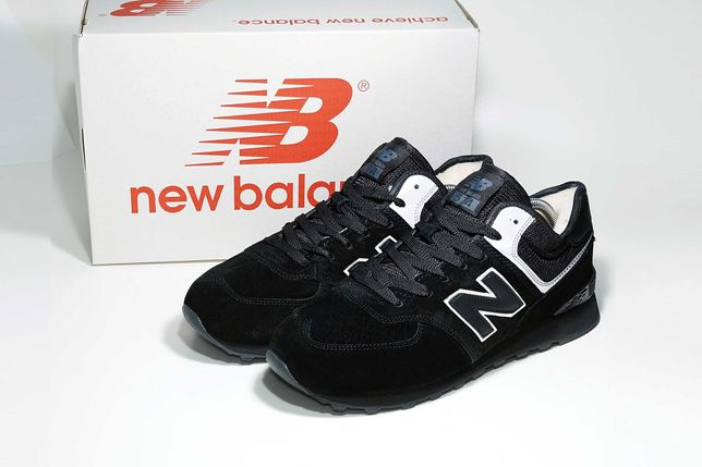 (512) ЗИМА кроссовки ботинки New Balance 574 (41,44) - на меху