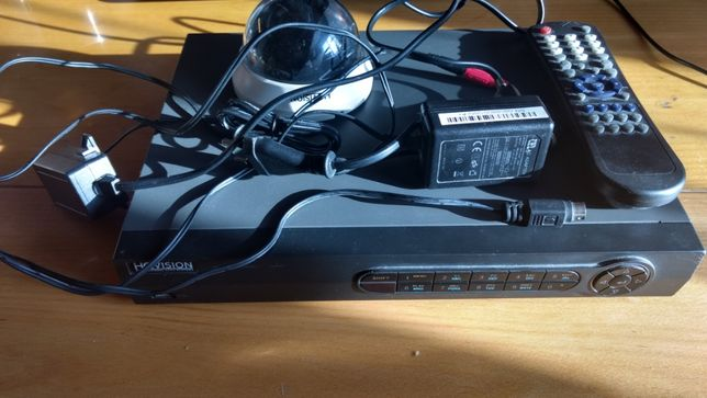 System monitoringu HQ-DVR0401H + Kamera HQ-AN6028D