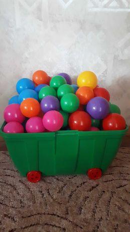 Piłeczki kolorowe 200 szt + GRATIS
