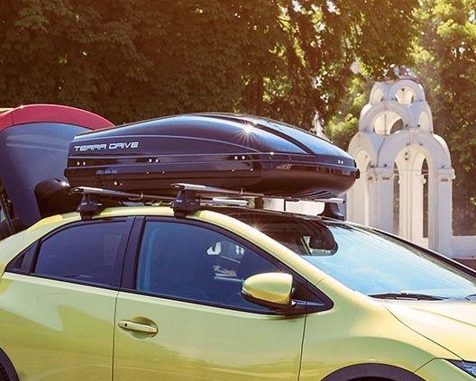 Автобокс TERRA DRIVE аеробокс аэро бокс на кришу багажник крышу авто