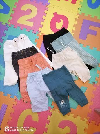 Spodnie joggery legginsy 62-68