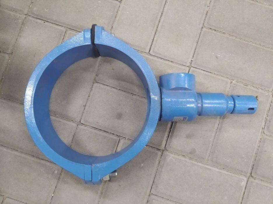 """Nawiertka 225x2"""" 110x5/4"""" Bohamet przyłącza wodociągowe dostawa tel"""