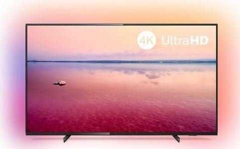 """Philips 43""""LED 4K UHD Android 43PUS6704 Netflix YouTube Ambilight"""