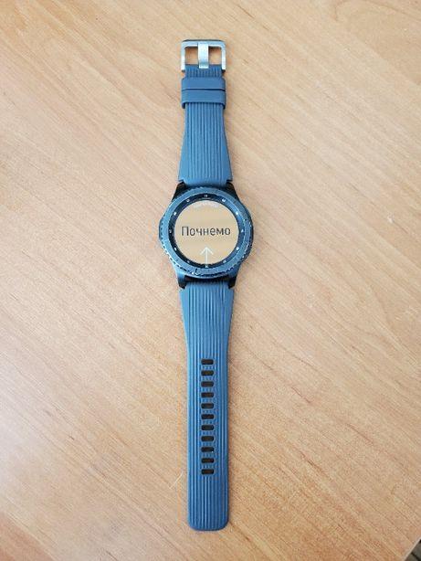 Смарт-Часы Samsung GEAR S3 Frontier в отличном состоянии!