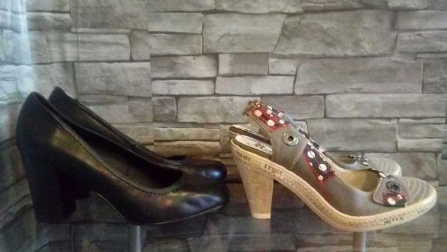 Buty damskie na obcasie
