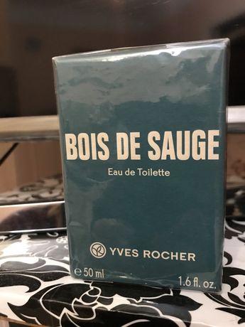 Туалетная вода Bois de Sauge Ив Роше Yves Rocher оригинал 50мл