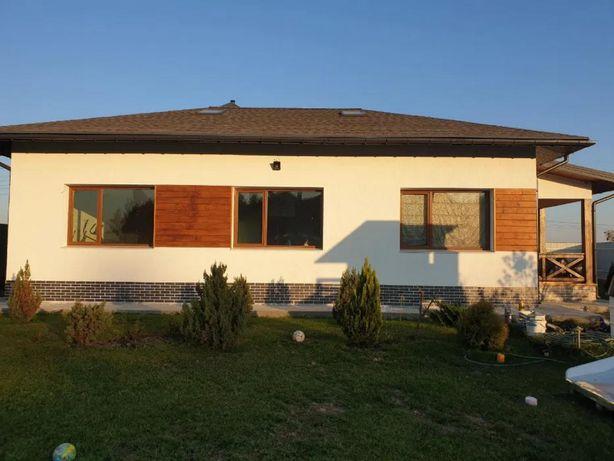Шикарный тёплый дом в с. Счастливое, 120 м2, 10 км до метро!