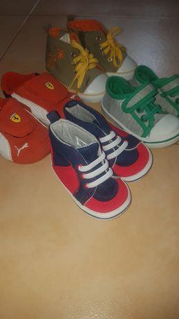 Взуття на хлопчика від народження і до 9міс