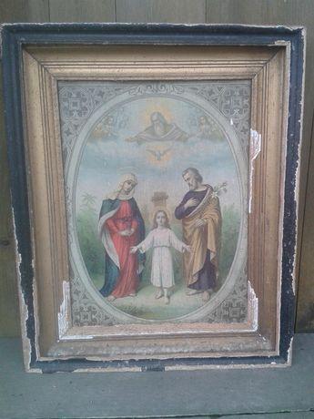 obraz do renowacji z 1910roku