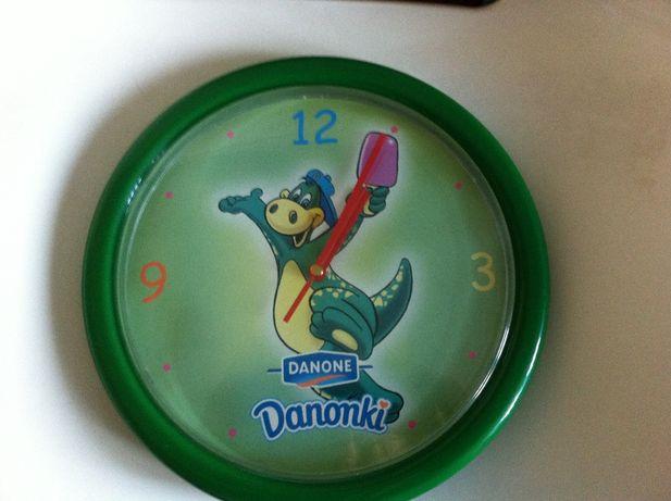 Zegar Danonki na ścianę