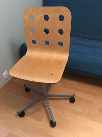 Krzesło obrotowe ikea drewniane