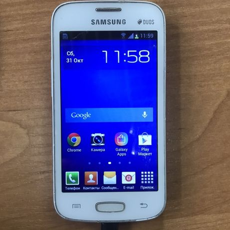Смартфон Samsung Galaxy Star Plus Duos GT-S7262 белый