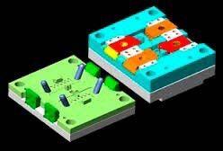 Projeto de moldes e ferramentas 3D CAD CAM