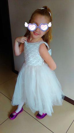 Sukienka księżniczka 122 cm H&M