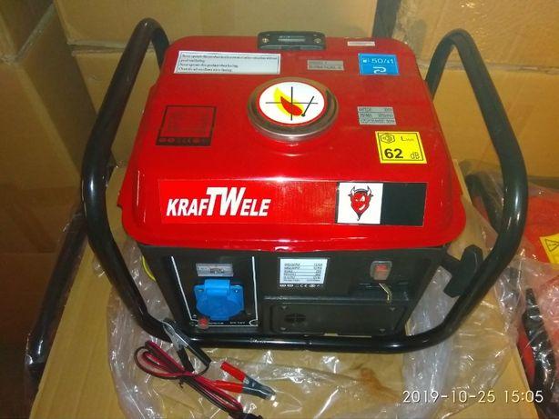 Продам бензиновый генератор Kraft